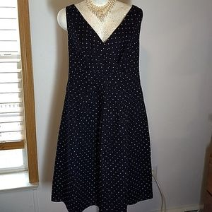 Landsend polka dots dress